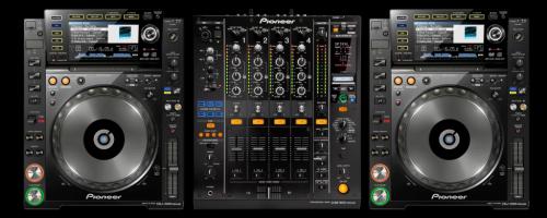 konsoleta : pioneer cdj 2000 nexus x2 oraz mixer pioneer djm 800